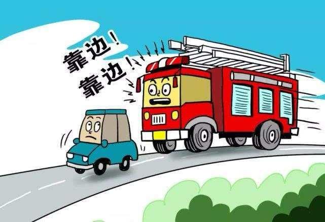 出租车拒绝让行消防车,司机竟称为守法不闯红灯